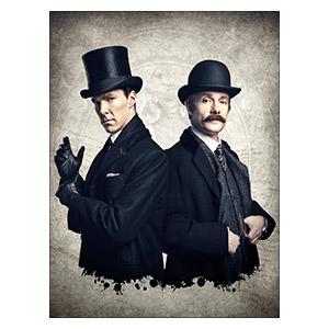 Sherlock BBC. Размер: 30 х 40 см